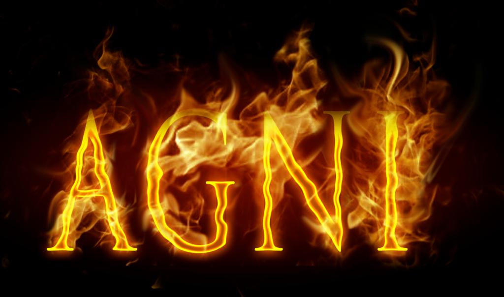 Agni Fire type (Grade 6) Photoshop