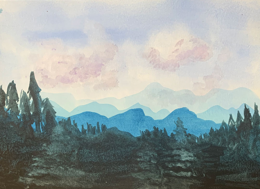Forest (Grade 7) Watercolor