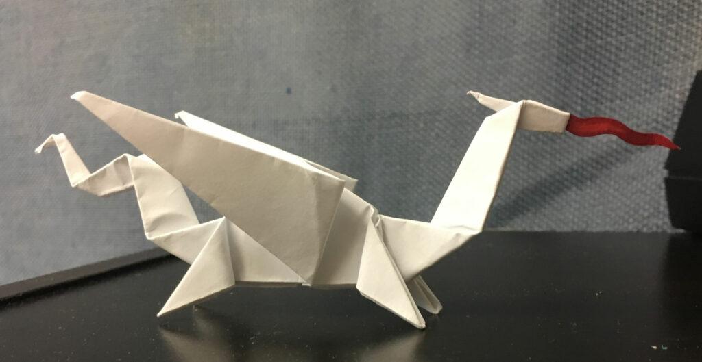 Dragon (Grade 8) Orgami paper