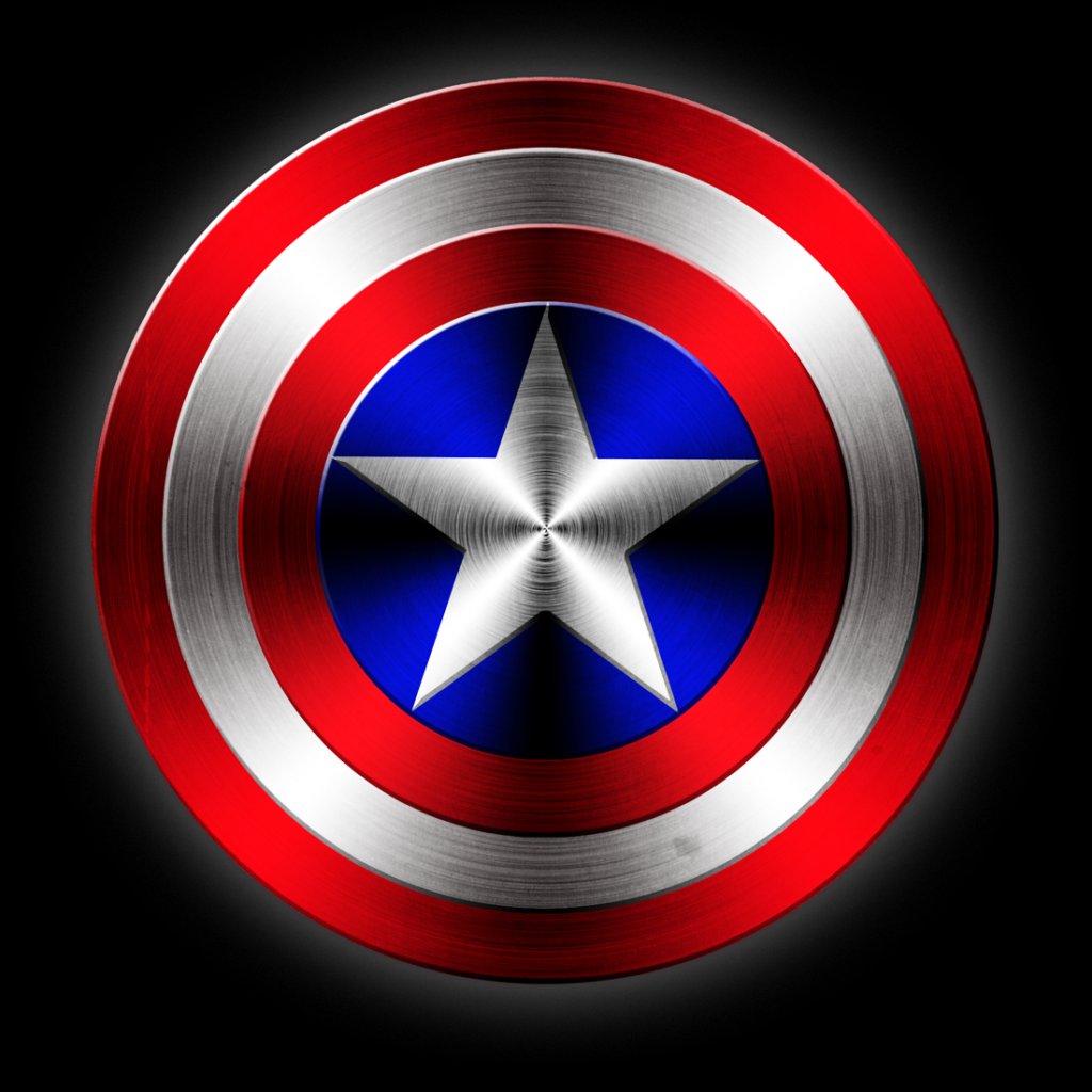 Captain America's Shield (6th Grade) Photoshop from scratch